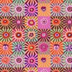 Sunburst - Pink by The Kaffe Fassett Collective Sunburst - OzQuilts