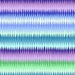 Diamond Stripe  - Blue by The Kaffe Fassett Collective Diamond Stripe - OzQuilts