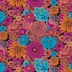 Enchanted - Dark by The Kaffe Fassett Collective Enchanted - OzQuilts