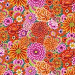 Enchanted - Red by The Kaffe Fassett Collective Enchanted - OzQuilts