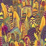 Feathers - Gold by The Kaffe Fassett Collective Feathers - OzQuilts