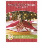 Scandi Christmas Tree Skirt by Jennifer Bosworth by Shabby Fabrics Christmas & Holiday - OzQuilts