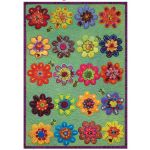 Sue Spargo Sampler Series : Flower Play - includes template and pattern by Sue Spargo Sue Spargo - OzQuilts