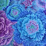 Brassica - Blue by The Kaffe Fassett Collective Brassica - OzQuilts