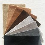 Pure Wool Felt Pack E- 8 Colours- 10cm x 15cm by Hollandfelt European Wool Felt  - OzQuilts