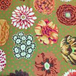 Big Blooms - Brown by The Kaffe Fassett Collective Big Blooms - OzQuilts