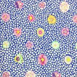 Guinea Flower - Blue by The Kaffe Fassett Collective Guinea Flower - OzQuilts