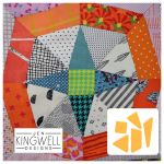 In Orbit Tempter Patchwork Template set by Jen Kingwell Designs by Jen Kingwell Designs Jen Kingwell Designs Templates - OzQuilts