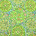 Millefiore - Green by The Kaffe Fassett Collective Millefiore - OzQuilts