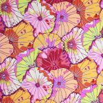 Lotus Leaf - Red by The Kaffe Fassett Collective Lotus Leaf - OzQuilts