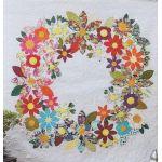 Flowering Wreath Quilt Pattern by Freebird Quilting Designs by Free Bird Quilting Designs Applique - OzQuilts