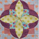 Tilly Tempter Patchwork Template set by Jen Kingwell Designs by Jen Kingwell Designs Jen Kingwell Designs Templates - OzQuilts