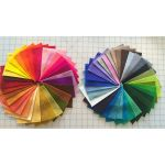 Pure Wool Felt Pack 64 Colours- 10cm x 15cm by Hollandfelt European Wool Felt  - OzQuilts