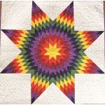 "Quiltsmart 58"" Lone Star Pattern & Printed Fusible Interfacing Quilt Kit by Quiltsmart Quiltsmart Kits - OzQuilts"