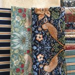 Brimfield Blooming Star Quilt Kit - Includes William Morris fabric, EPP papers, pattern & templates by  Kits - OzQuilts
