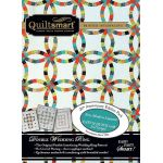 Quiltsmart Double Wedding Ring Pattern & Printed Interfacing Quilt Kit by Quiltsmart Quiltsmart Kits - OzQuilts