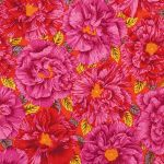 Bouffant - Red by The Kaffe Fassett Collective Bouffant - OzQuilts