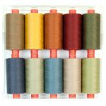 Rasant 1000m Boxed Set of Threads - Earthy by Rasant Thread Sets - OzQuilts