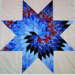 "Quiltsmart 38"" Lone Star Pattern Printed Interfacing & Instructions Pack by Quiltsmart Quiltsmart Kits - OzQuilts"