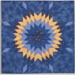 """Quiltsmart 38"""" Lone Star Pattern Printed Interfacing & Instructions Pack by Quiltsmart Quiltsmart Kits - OzQuilts"""