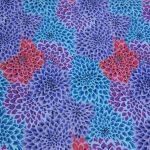 Dahlia Blooms - Cool by The Kaffe Fassett Collective Dahlia Blooms - OzQuilts