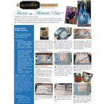Quiltsmart Mondo Bag Pattern & Printed Interfacing Bag Kit by Quiltsmart Bag Patterns - OzQuilts