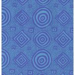 Good Vibrations - Teal by The Kaffe Fassett Collective Good Vibrations - OzQuilts