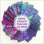 Kaffe Fassett Collective Classics - Peacock - 20  Fat Quarters by The Kaffe Fassett Collective Fat Quarter Packs - OzQuilts