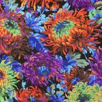 Shaggy - Black by The Kaffe Fassett Collective Shaggy - OzQuilts