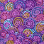 Spiral Shells - Lavender by The Kaffe Fassett Collective Spiral Shells - OzQuilts