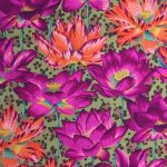 Leopard Lotus - Ochre by The Kaffe Fassett Collective Leopard Lotus - OzQuilts
