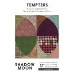 Shadow Moon Tempter Patchwork Quilt Block Template set by Jen Kingwell Designs by Jen Kingwell Designs Jen Kingwell Designs Templates - OzQuilts