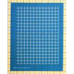 "Full Line Stencil Straight 1/2"" grid by Hancy Full Line Stencils Pounce Pads & Quilt Stencils - OzQuilts"