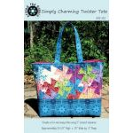 Simply Charming Twister Tote using the Lil' Twister Tool by Around the Bobbin Bag Patterns - OzQuilts