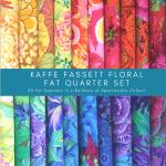 Kaffe Fassett Collective Floral Rainbow 20 Fat Quarter Bundle by The Kaffe Fassett Collective Fat Quarter Packs - OzQuilts