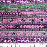 Dreaming in One Purple Australian Aboriginal Art Fabric by Bradley Stafford by M & S Textiles Cut from the Bolt - OzQuilts