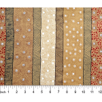 Four Seasons in Yellow Australian Aboriginal Art Fabric by Marie Ellis by M & S Textiles Cut from the Bolt - OzQuilts