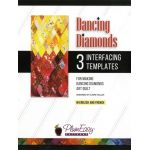 Dancing Diamonds Interfacing Template 3-pack, by Claire Haillot by PlumEasy Patterns Quiltsmart & Grid - OzQuilts