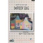 Quilt AS You Go Improv Bag Pattern by Pine Mountain Designs Bag Patterns - OzQuilts