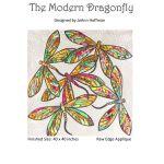 The Modern Dragonfly Pattern by Joanne Hoffman by JoAnn Hoffman Applique - OzQuilts
