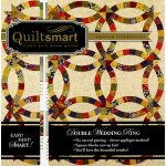 Quiltsmart Double Wedding Ring Snuggler Pack by Quiltsmart Quiltsmart Kits - OzQuilts