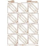 Quiltsmart Printed Interfacing Hunter's Star Panel by Quiltsmart Quiltsmart & Grid - OzQuilts