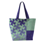 Twister Tote Pattern using the Lil' Twister Tool by Around the Bobbin Bag Patterns - OzQuilts