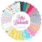 Fat Quarters Betty's Luncheonette, 33 fat quarters by  Fat Quarter Packs - OzQuilts