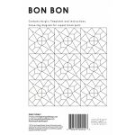 Bon Bon Tempter Patchwork Quilt Block Template set by Jen Kingwell Designs by Jen Kingwell Designs Jen Kingwell Designs Templates - OzQuilts
