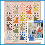 Lana Lemur Quilt Kit Adventure by Elizabeth Hartman -Includes Fabric, binding and pattern by  Elizabeth Hartman - OzQuilts