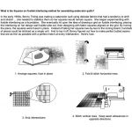 """Quiltsmart Printed Fusible Interfacing Panel 2"""" Grid by Quiltsmart Quiltsmart & Grid - OzQuilts"""
