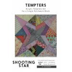 Shooting Star Tempter Patchwork Quilt Block Template set by Jen Kingwell Designs by Jen Kingwell Designs Jen Kingwell Designs Templates - OzQuilts