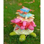 Turtle Tower Pattern by Louise Papas by Jen Kingwell Designs Jen Kingwell Designs - OzQuilts