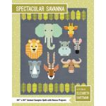 Spectacular Savanna Quilt Pattern by Elizabeth Hartman by Elizabeth Hartman Quilt Patterns - OzQuilts